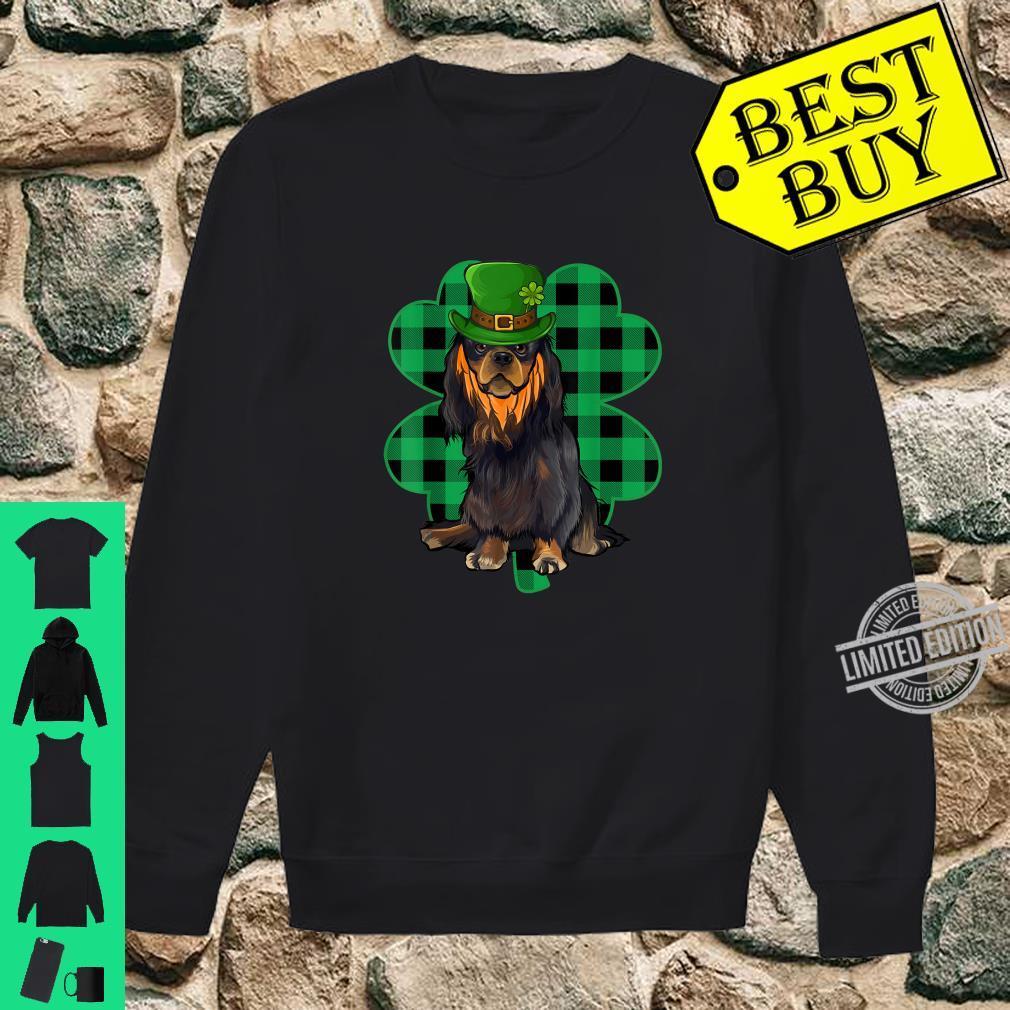 English Toy Spaniel Leprechaun St Patricks Day Lucky Clover Shirt sweater