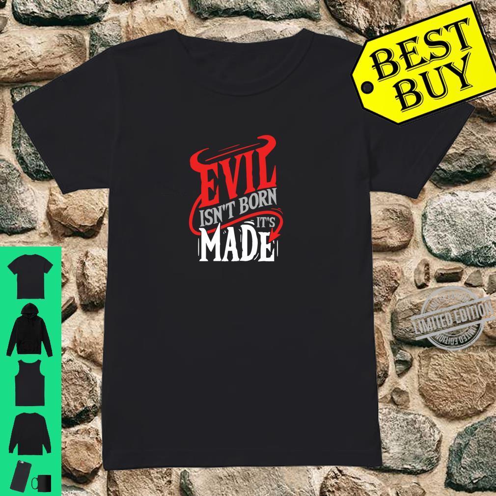 Evil Satanic Hail Satan Occult Shirt ladies tee