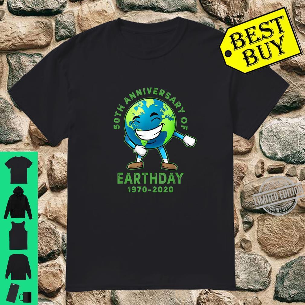 Flossing Earth Earth Day 50th Anniversary 2020 Shirt