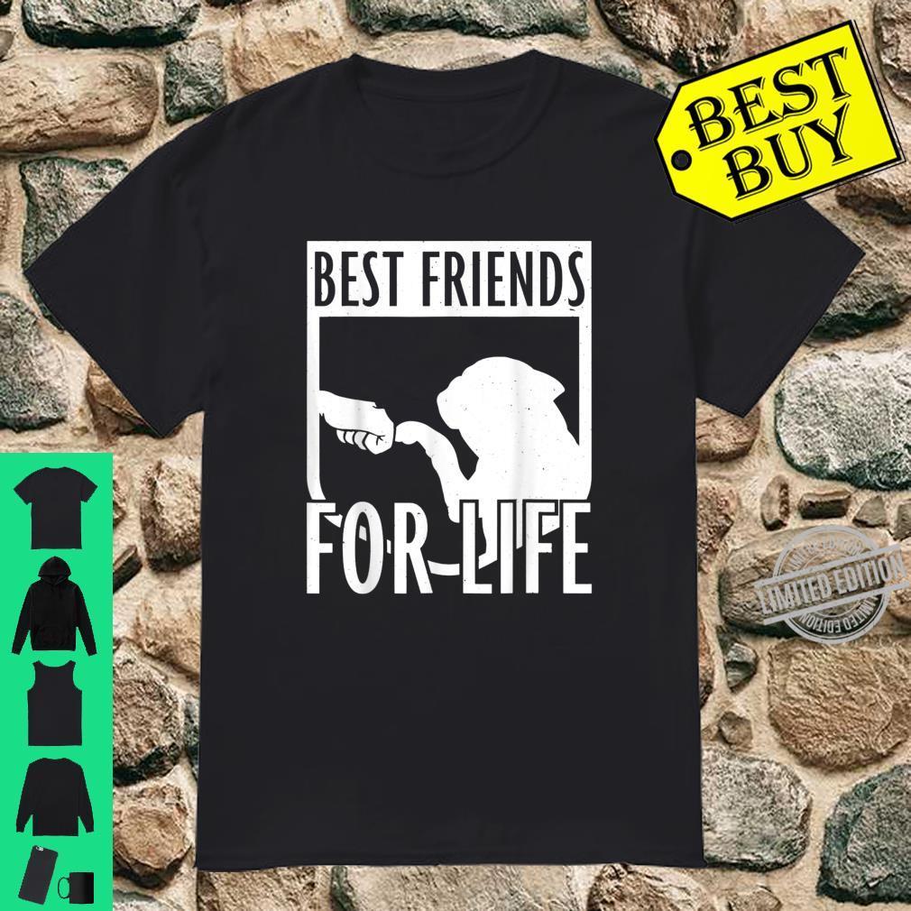 Franzsische Bulldogge Best Friends for Life Shirt