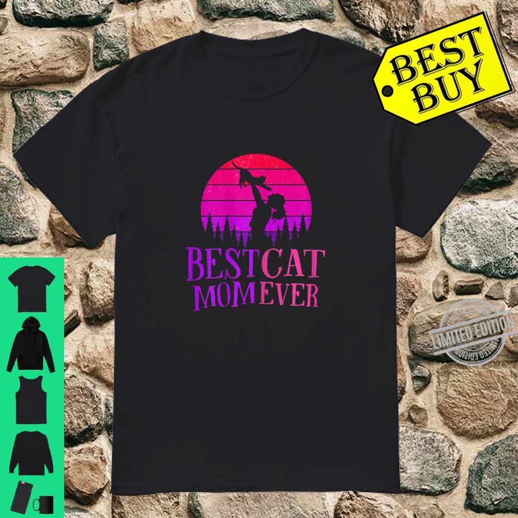 Funny Best Cat Mom Kitten Love Cat Mother Feline Cats Pets Shirt