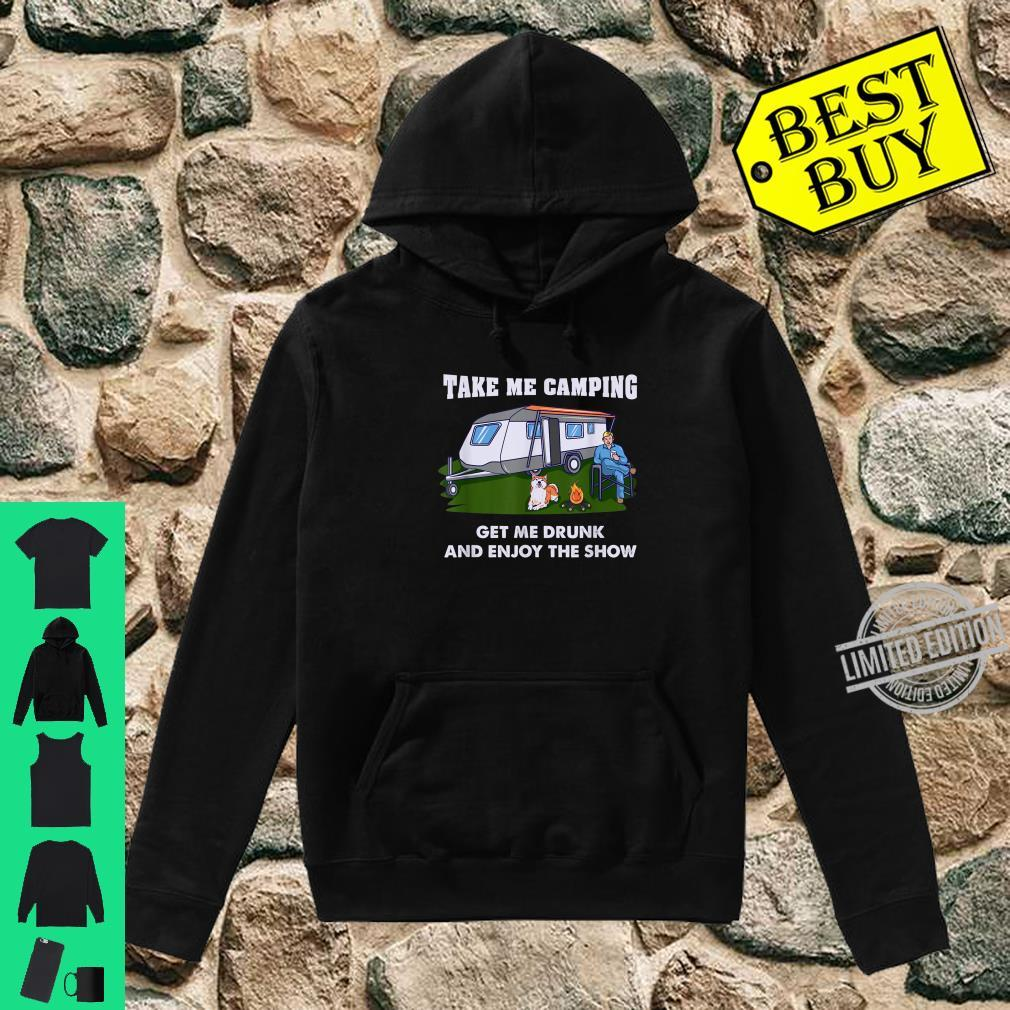 Funny Camping & Drinking For Camper Shirt hoodie