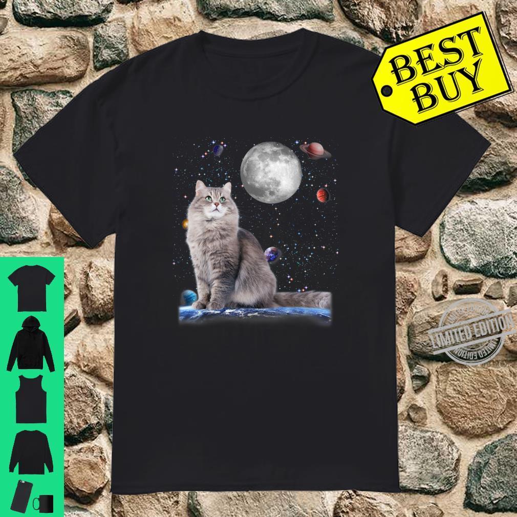 Funny Cute Kitties Galaxy Stars Animal Universe Pet cat Shirt