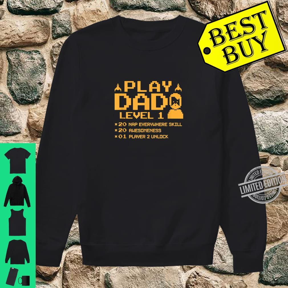 Funny Gamer Dad Shirt Cool Video Gaming Player Father Shirt sweater