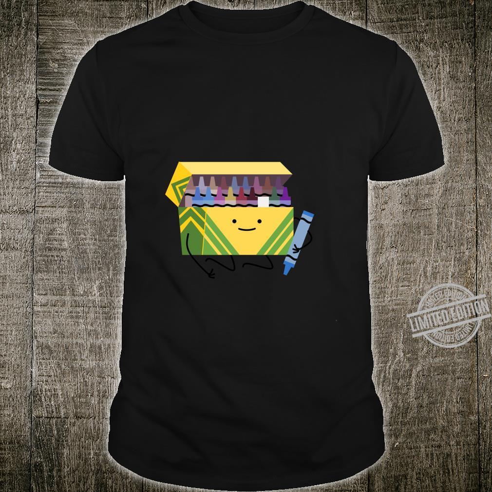 Funny Good Boys Crayon Box Smile Teacher Shirt