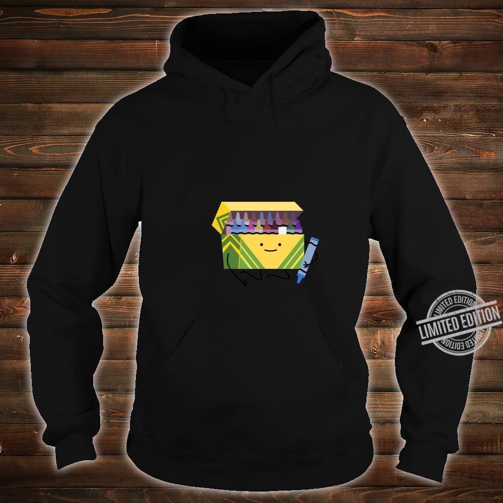 Funny Good Boys Crayon Box Smile Teacher Shirt hoodie
