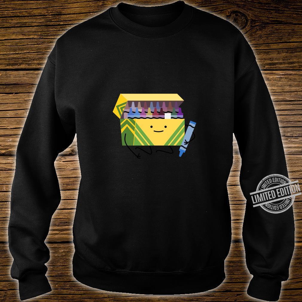Funny Good Boys Crayon Box Smile Teacher Shirt sweater