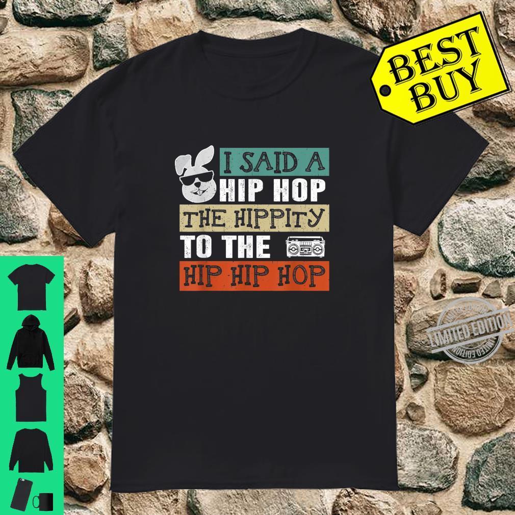 Funny Hip Hop Bunny Easter Shirt
