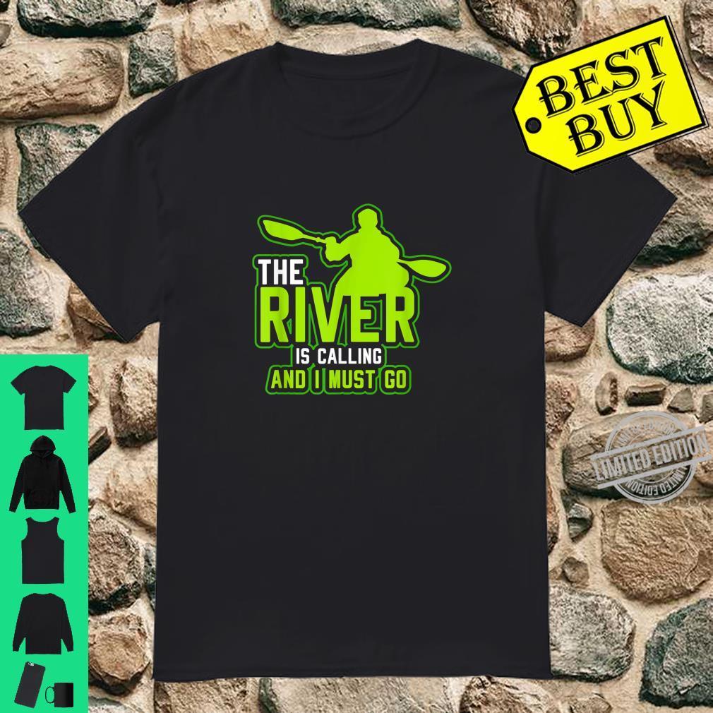 Funny Kayaking Shirt Canoeings Rafting Kayak Shirt
