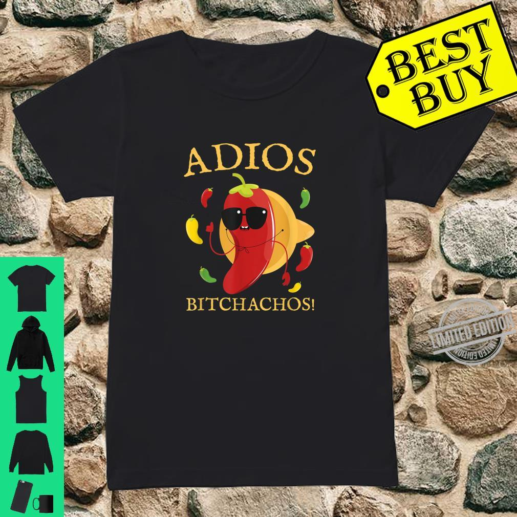 Funny Mexican Chili Idea Cinco de Mayo Shirt ladies tee