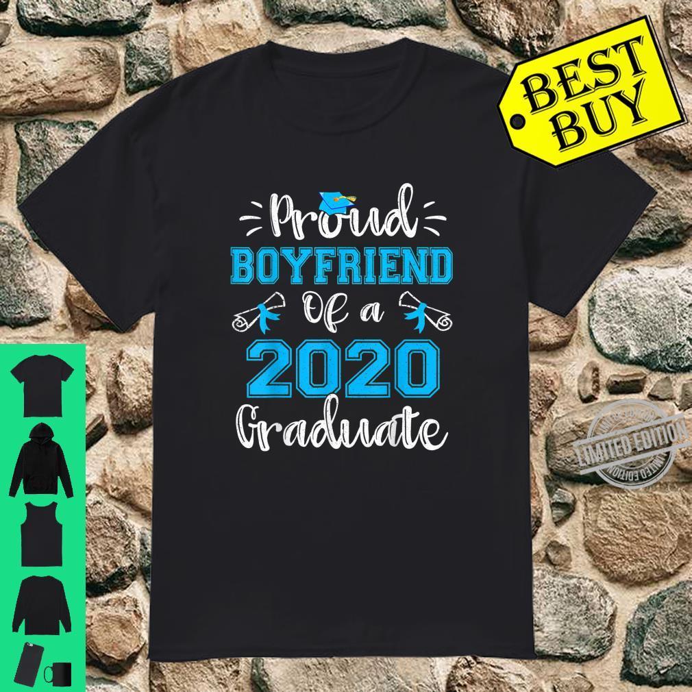 Funny Proud Boyfriend Of A 2020 Graduate Shirt Senior Shirt