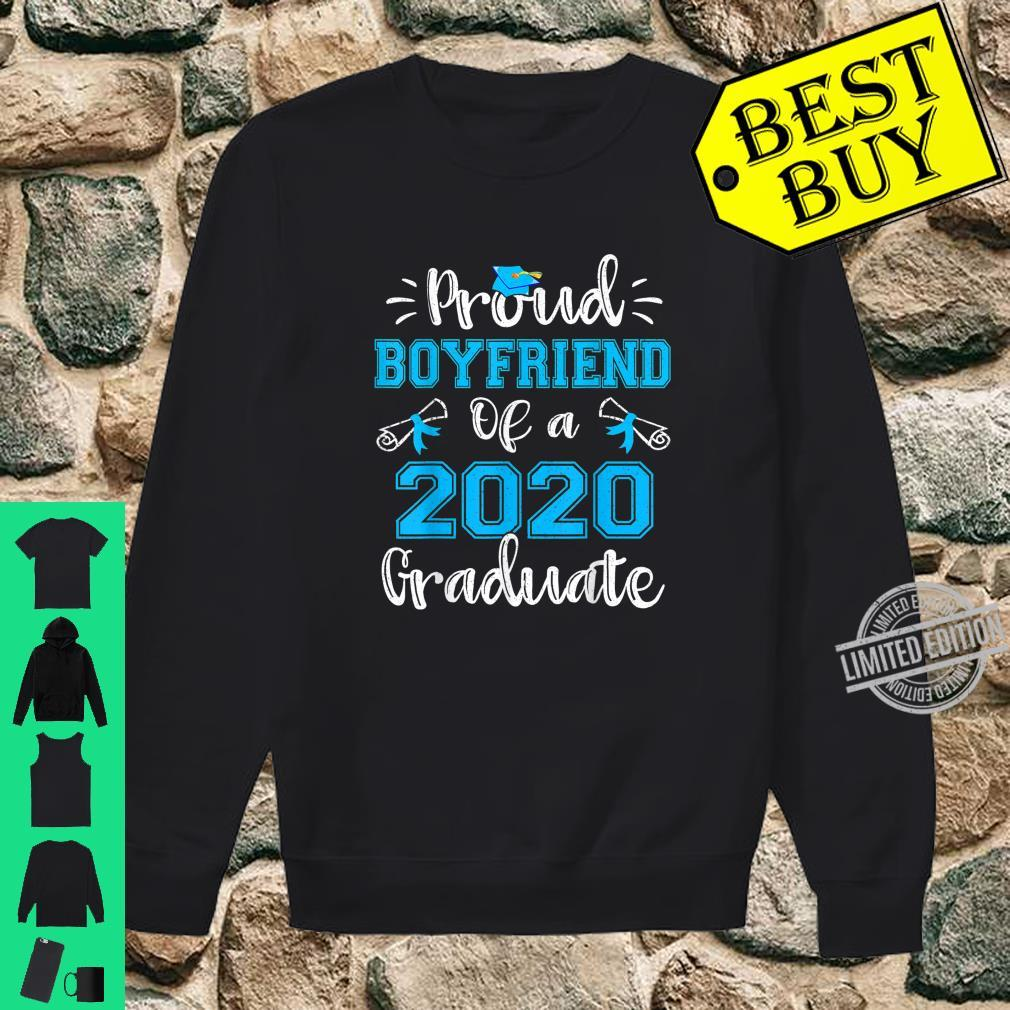 Funny Proud Boyfriend Of A 2020 Graduate Shirt Senior Shirt sweater