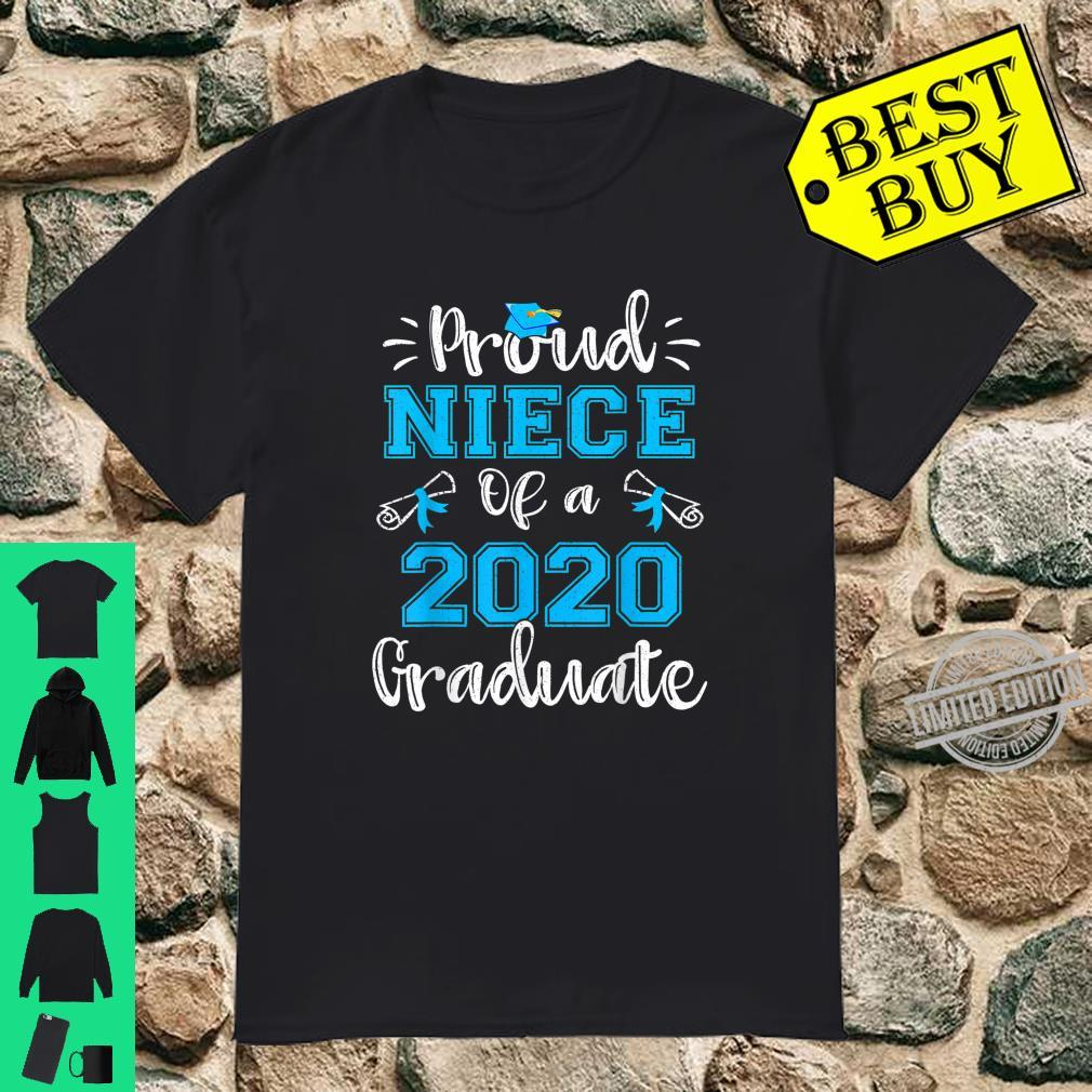 Funny Proud Niece Of A 2020 Graduate Shirt Senior 20 Shirt