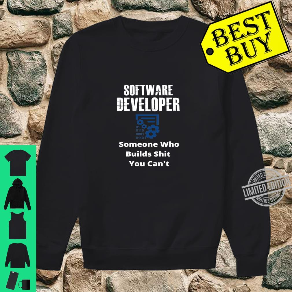 Funny Quote Sarcastic Saying Software Developer Definition Shirt sweater