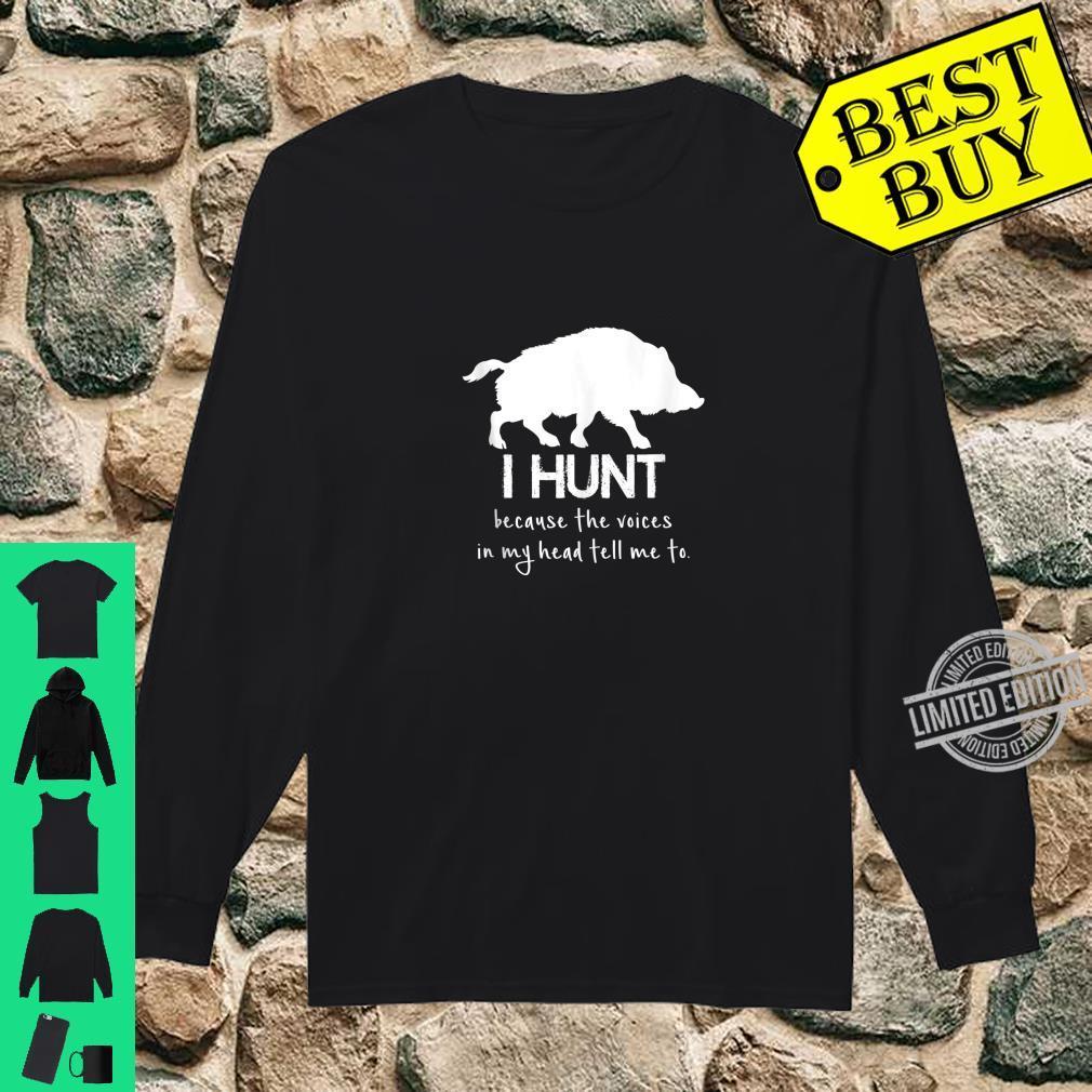 Funny Hog Hunting Design For Boar Hunters Shirt