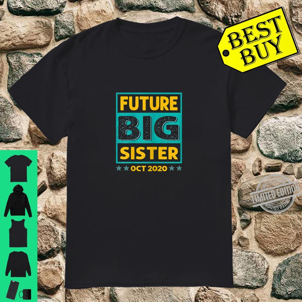 Future Big Sister OCT 2020 New Coming Big Sister Announce Shirt