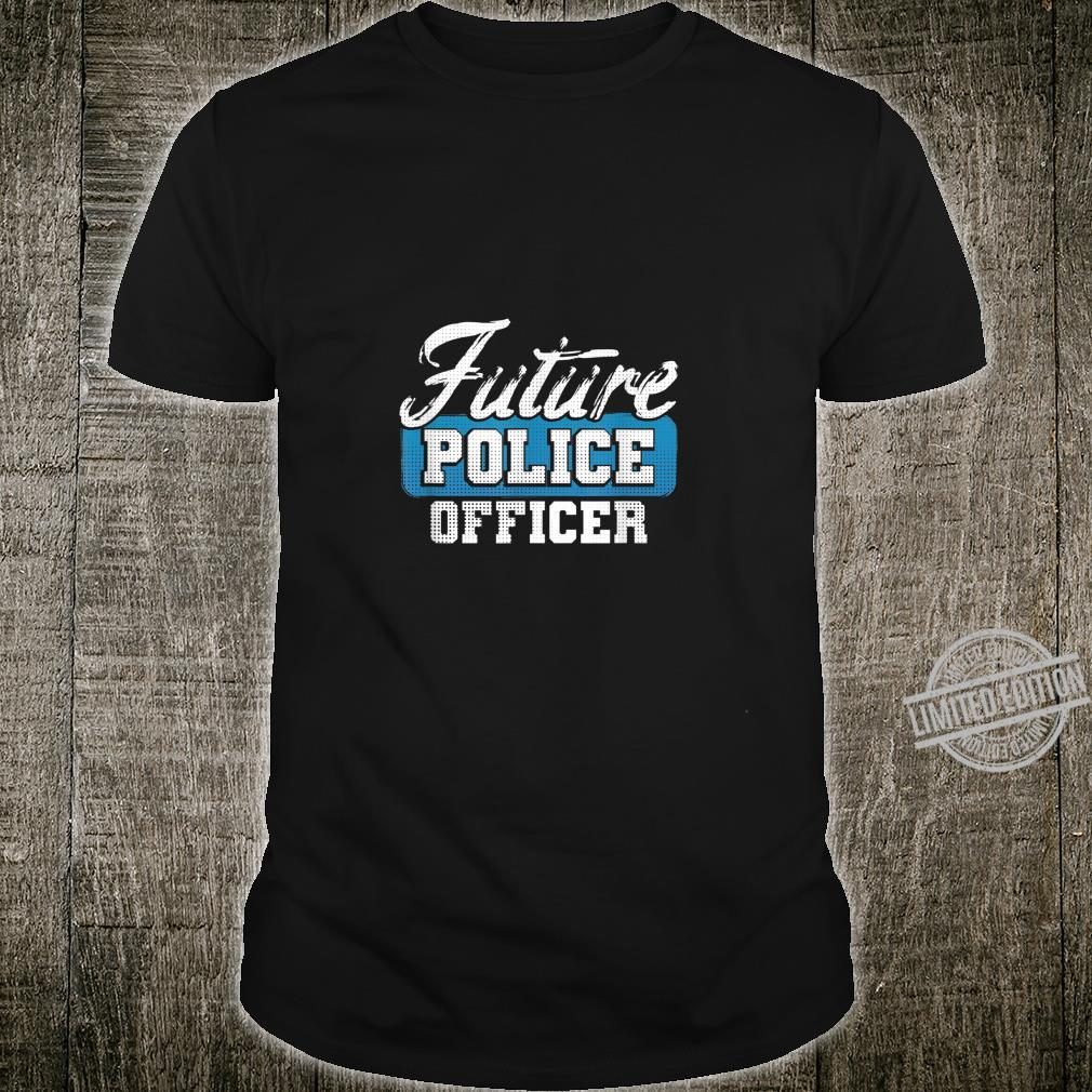 Future Police Officer Idea for Son from Police Dad Shirt