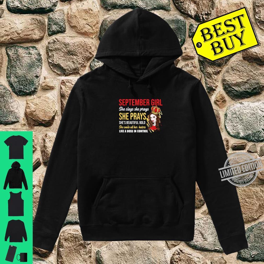 Geboren im September Einhorn Geburtstag Monat Spaß BTag Shirt hoodie