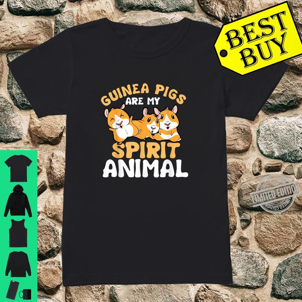 Geisttier Guinea Pig Kleidung Geschenk Meerschweinchen Shirt ladies tee