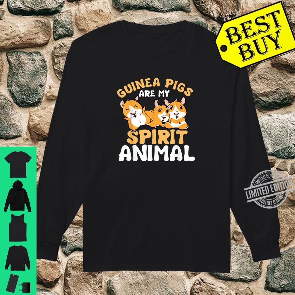 Geisttier Guinea Pig Kleidung Geschenk Meerschweinchen Shirt long sleeved