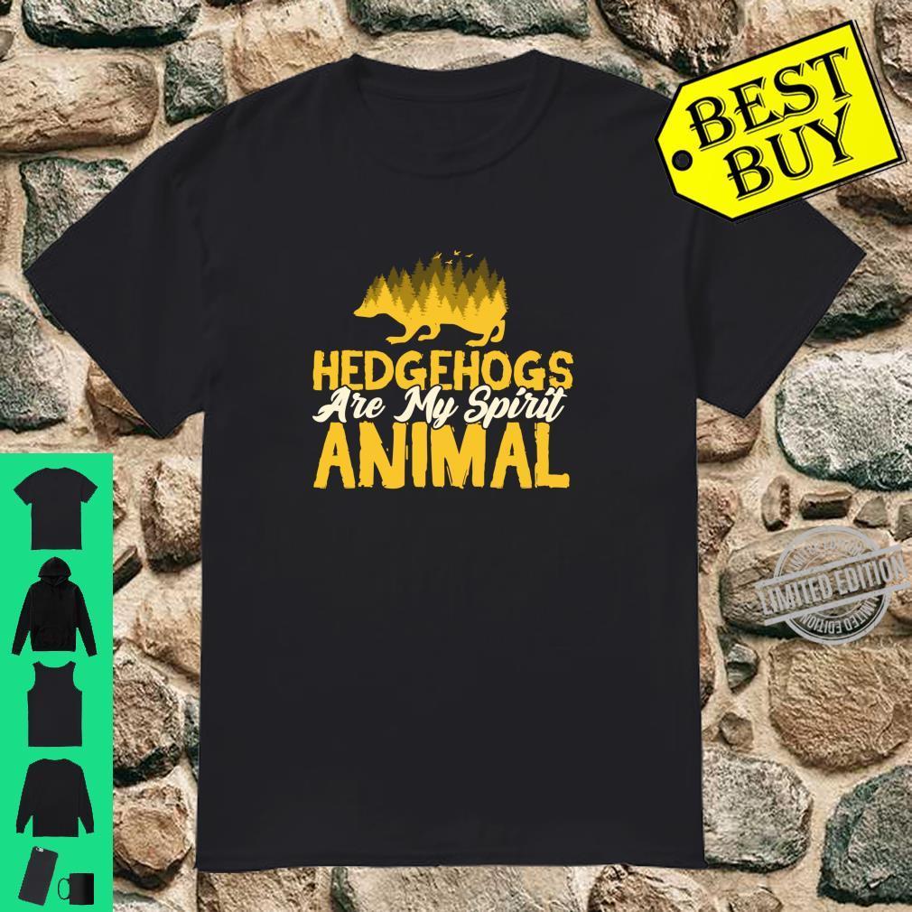 Geisttier Igel Hedgehog Kleidung Kostüm Geschenk Igel Shirt