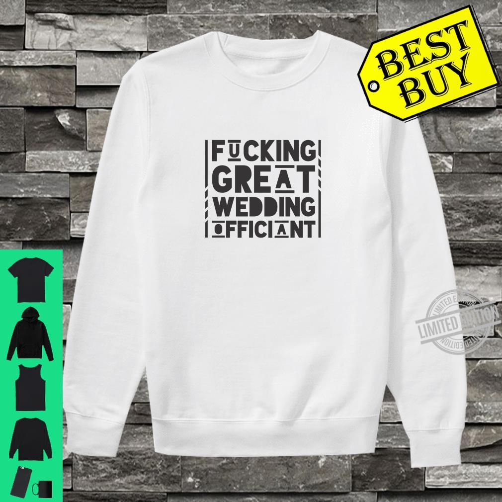 Gift For Wedding Officiant Shirt sweater