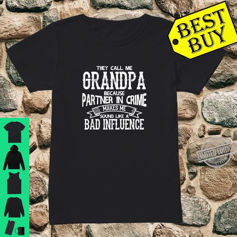 Grandpa grandson Shirt ladies tee