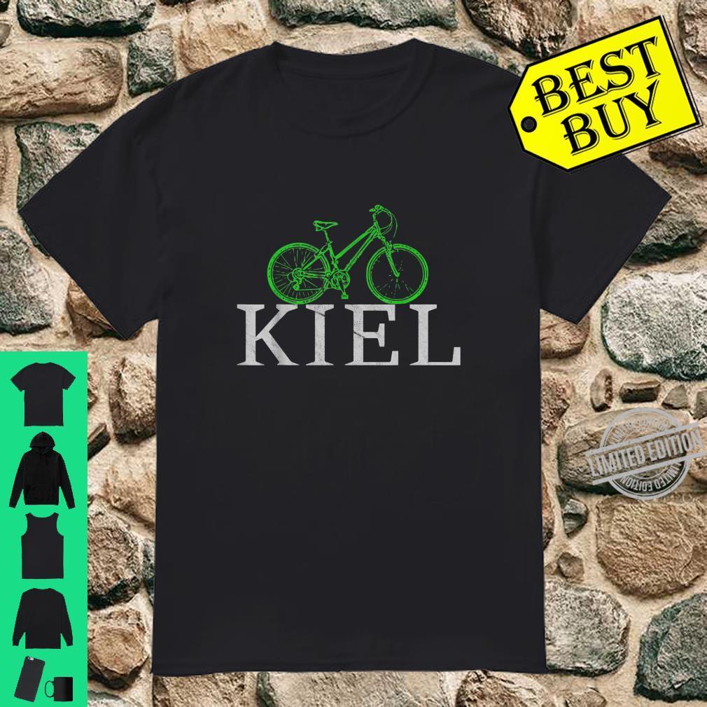 Grüne Mobilität Nachhaltig mit dem Fahrrad in Kiel Shirt