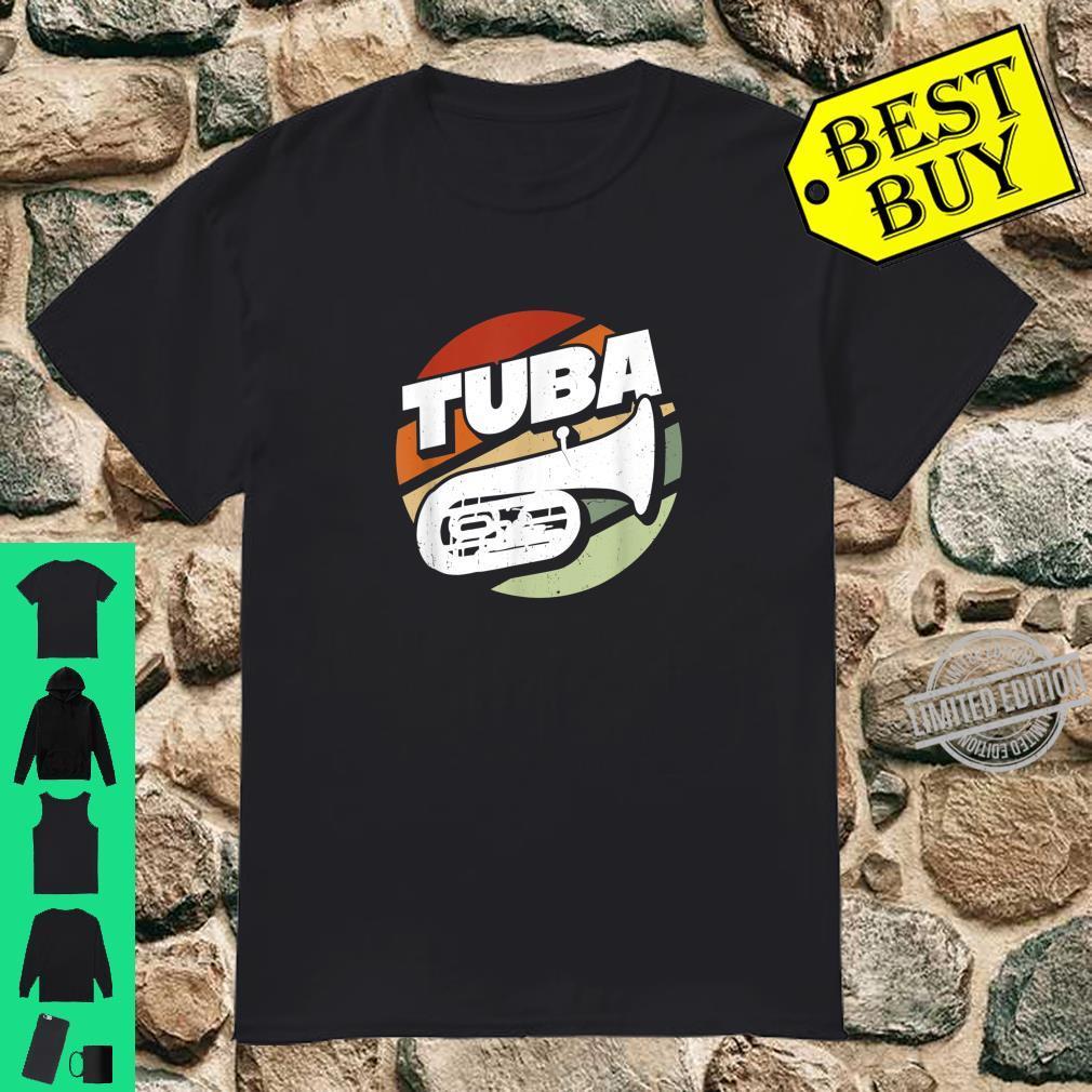 Herren Bass Tuba Tubaspieler Tubist Musik Musiker Instrument Band Shirt