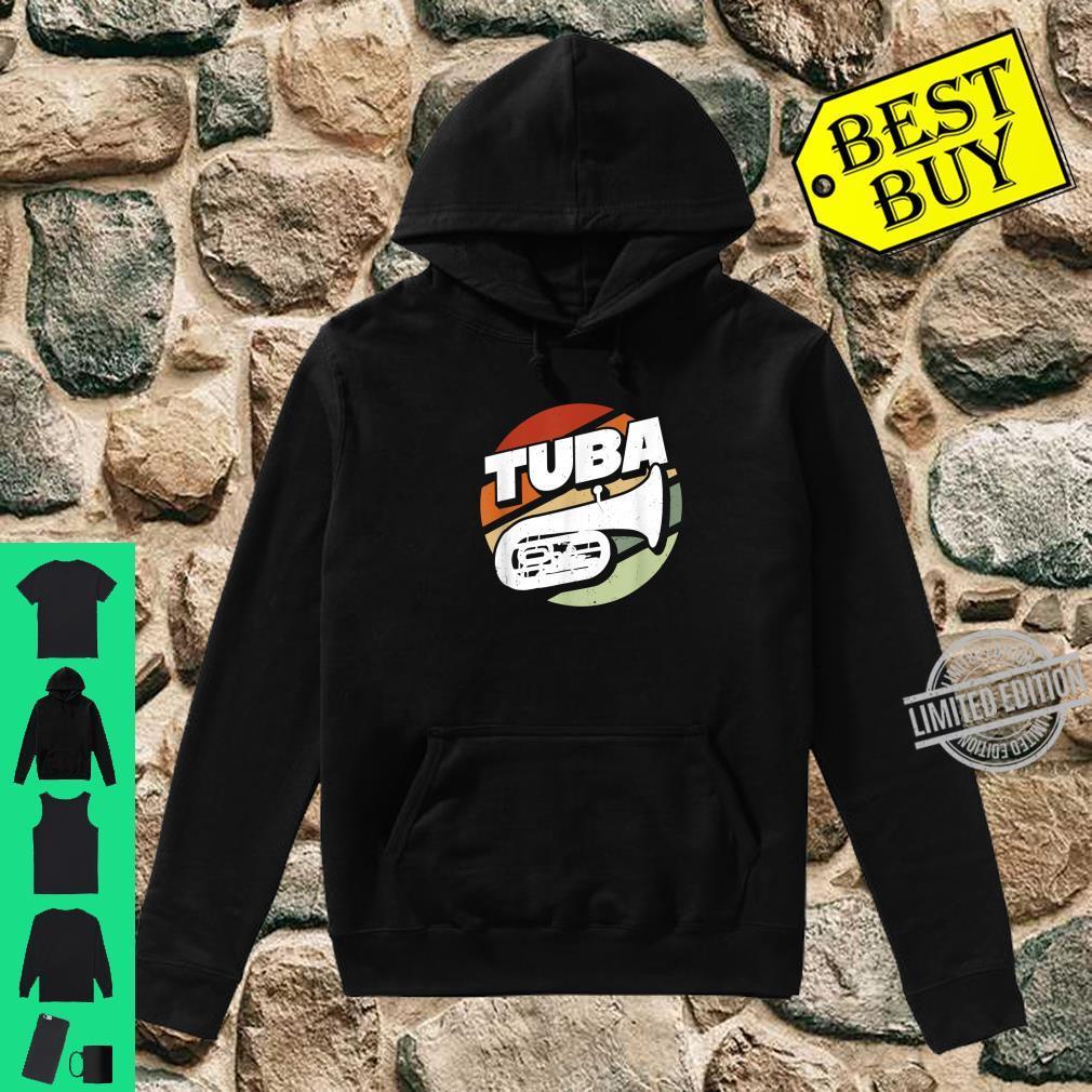Herren Bass Tuba Tubaspieler Tubist Musik Musiker Instrument Band Shirt hoodie