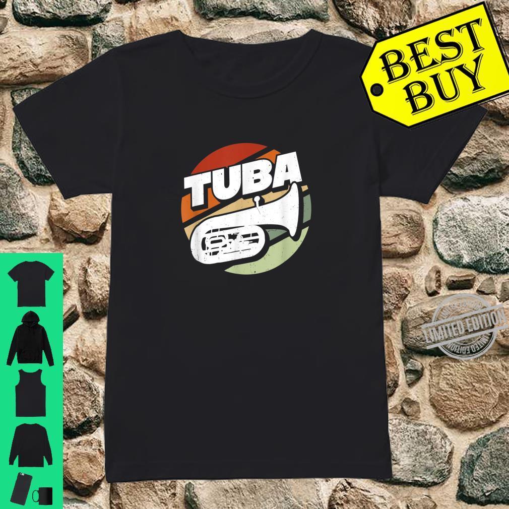 Herren Bass Tuba Tubaspieler Tubist Musik Musiker Instrument Band Shirt ladies tee