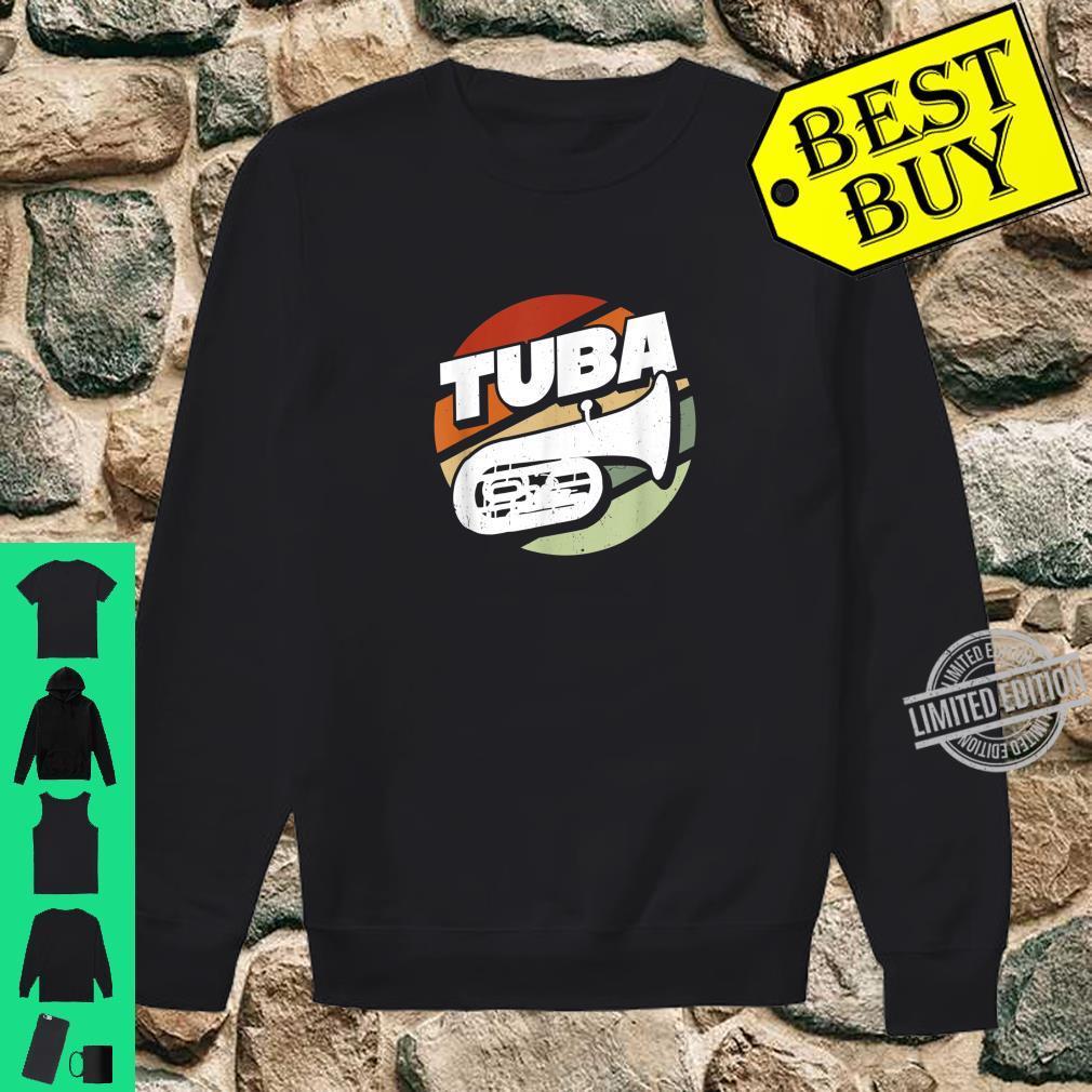Herren Bass Tuba Tubaspieler Tubist Musik Musiker Instrument Band Shirt sweater