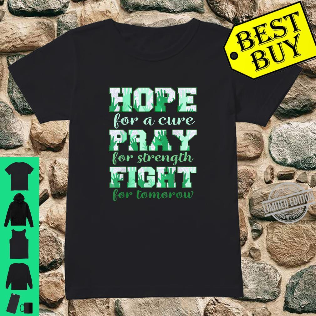 Hope pray fight liver cancer Shirt ladies tee