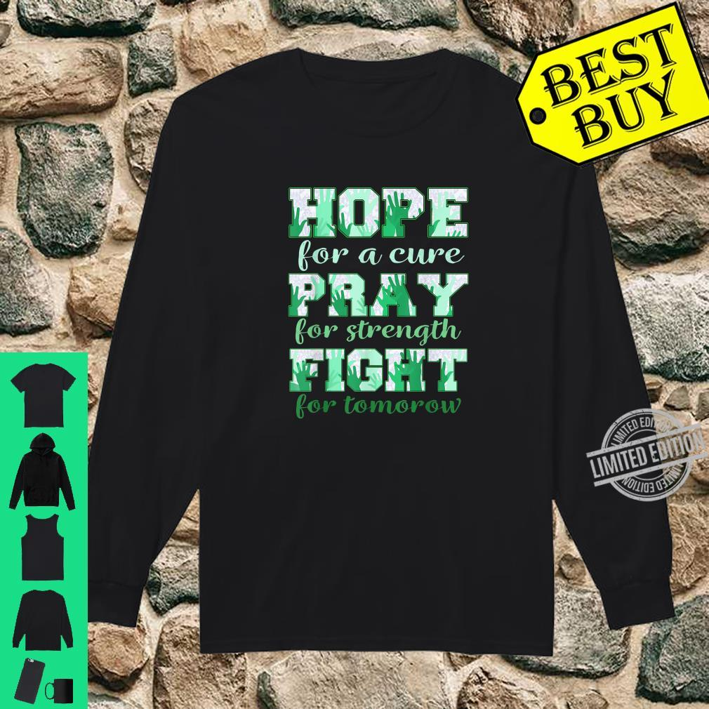 Hope pray fight liver cancer Shirt long sleeved