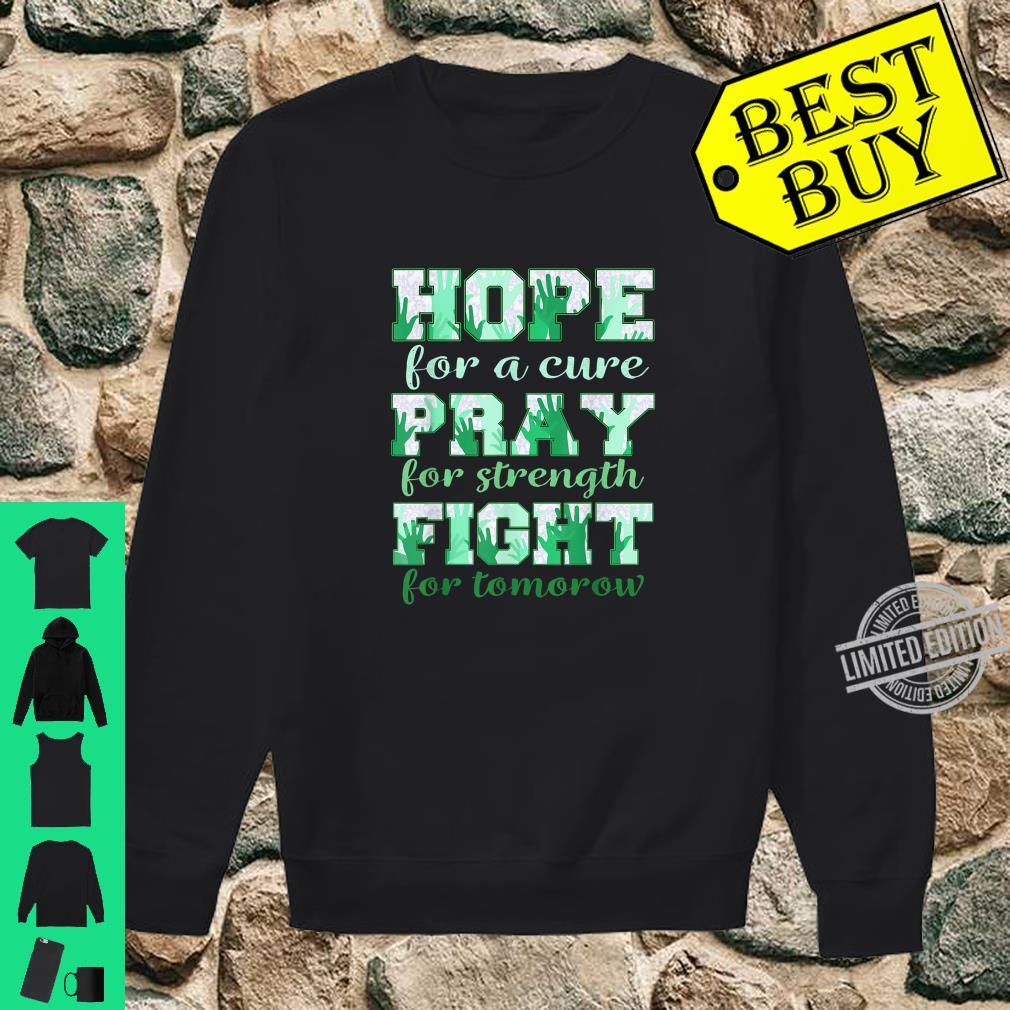 Hope pray fight liver cancer Shirt sweater