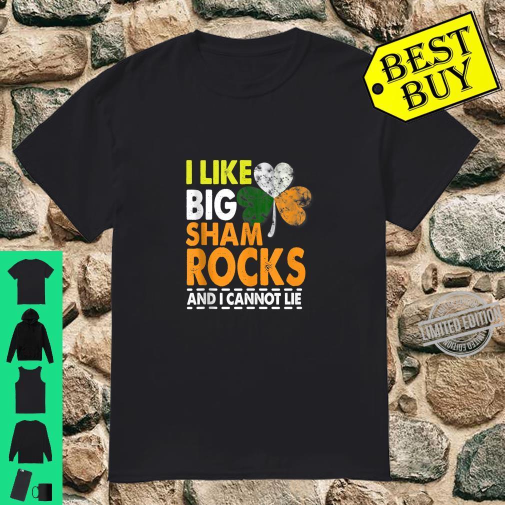 I Like Big Shamrocks Saint Patrick's Day Boobs Shirt