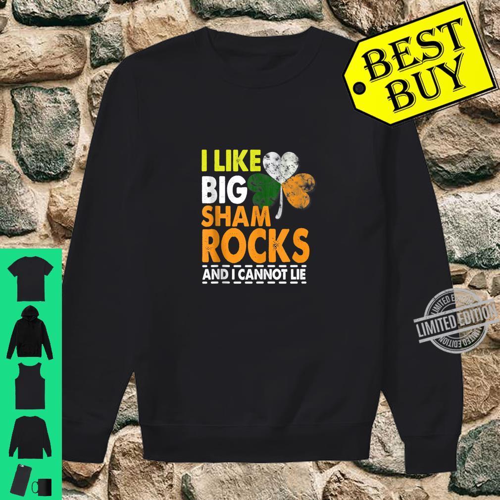 I Like Big Shamrocks Saint Patrick's Day Boobs Shirt sweater