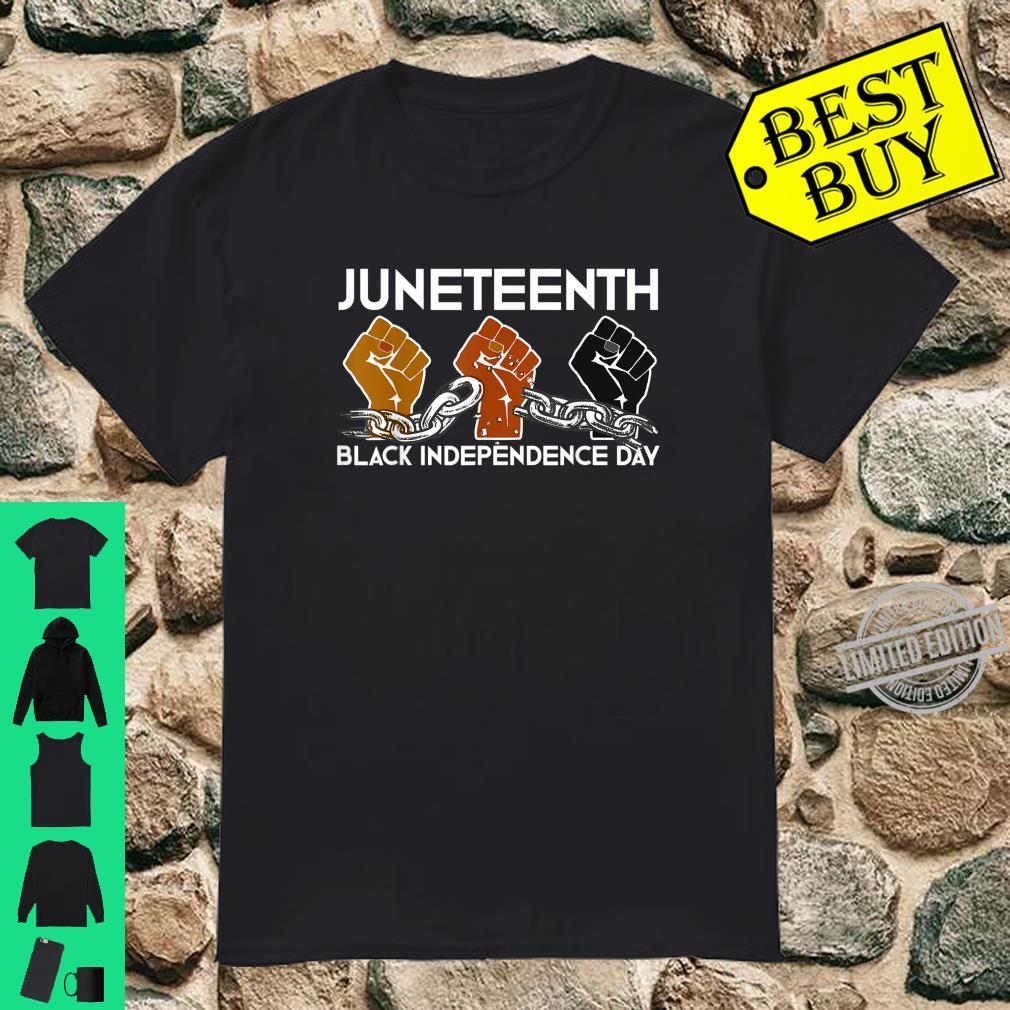 Juneteenth Black Independence Day Freedom Emancipation Shirt