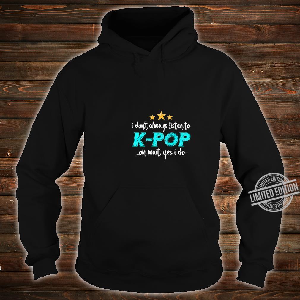 KPop Shirt hoodie