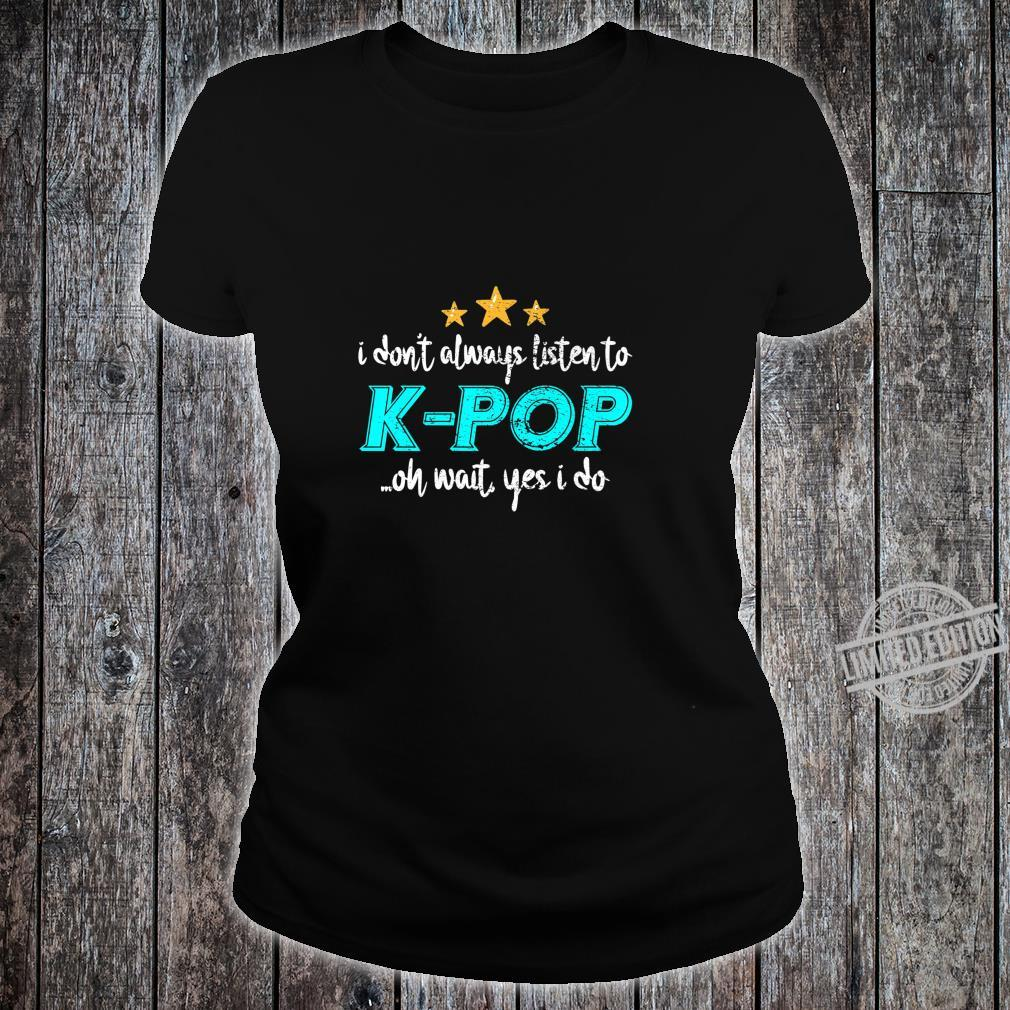 KPop Shirt ladies tee