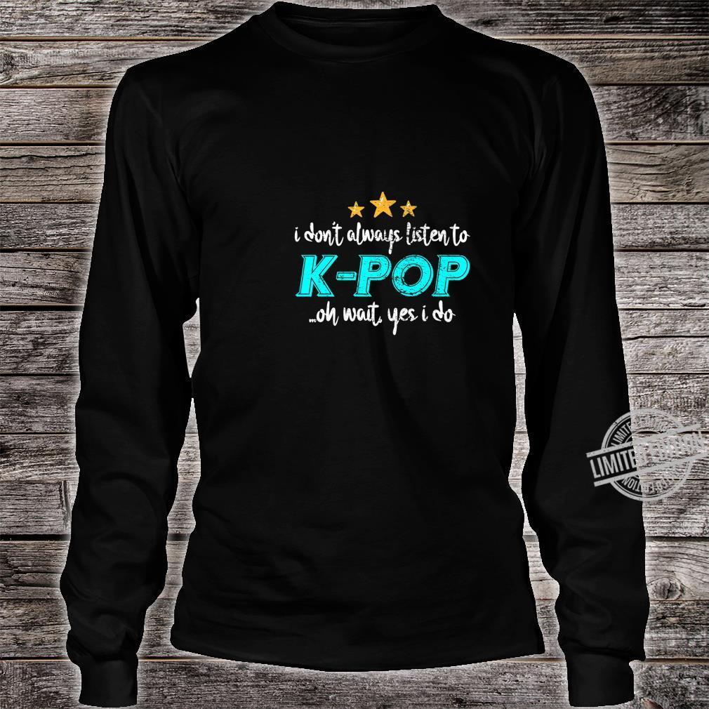 KPop Shirt long sleeved