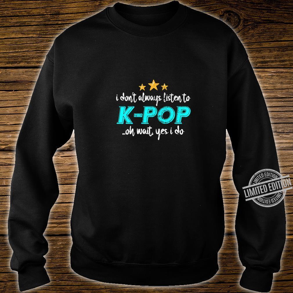 KPop Shirt sweater
