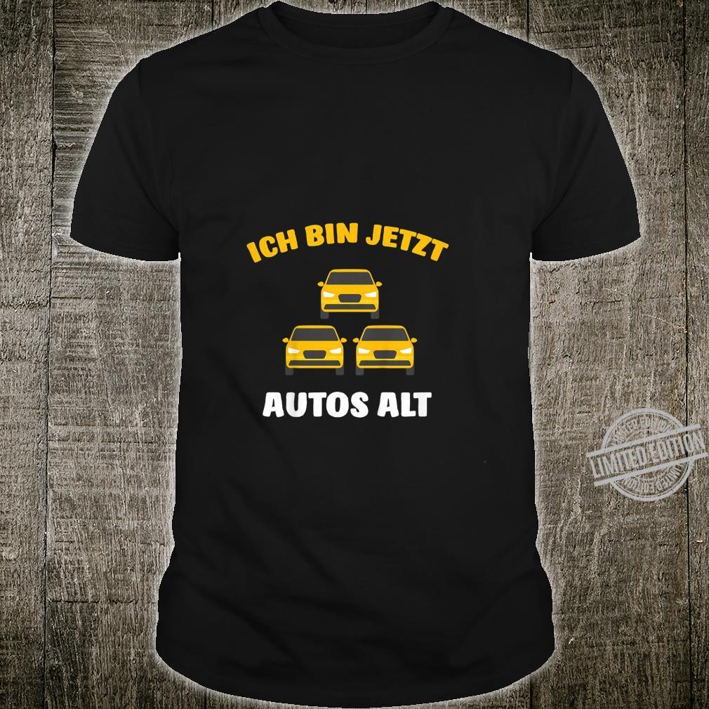 Kinder 3. Geburtstag Auto Junge Drei Jahre Jungen Fahrzeug Geschenk Shirt