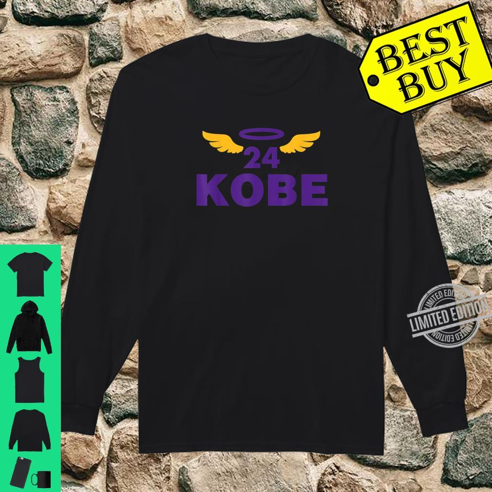 Kobe+Spirit Basketball No.24 Superstar Never Merch Forget Shirt long sleeved