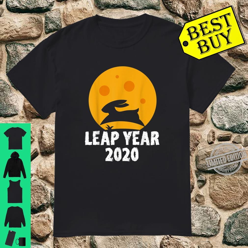 Leap Year February 29th 2020 Leap Day Rabbit Jump Shirt