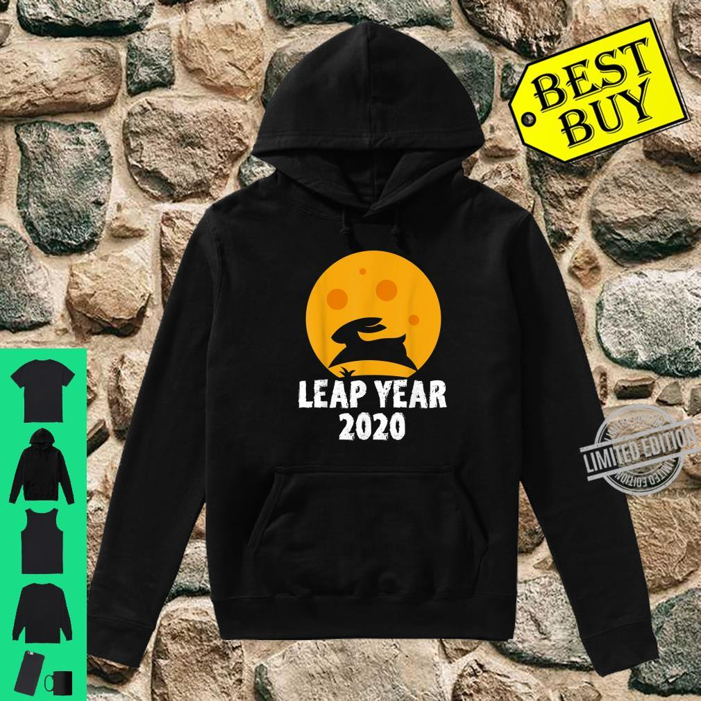 Leap Year February 29th 2020 Leap Day Rabbit Jump Shirt hoodie