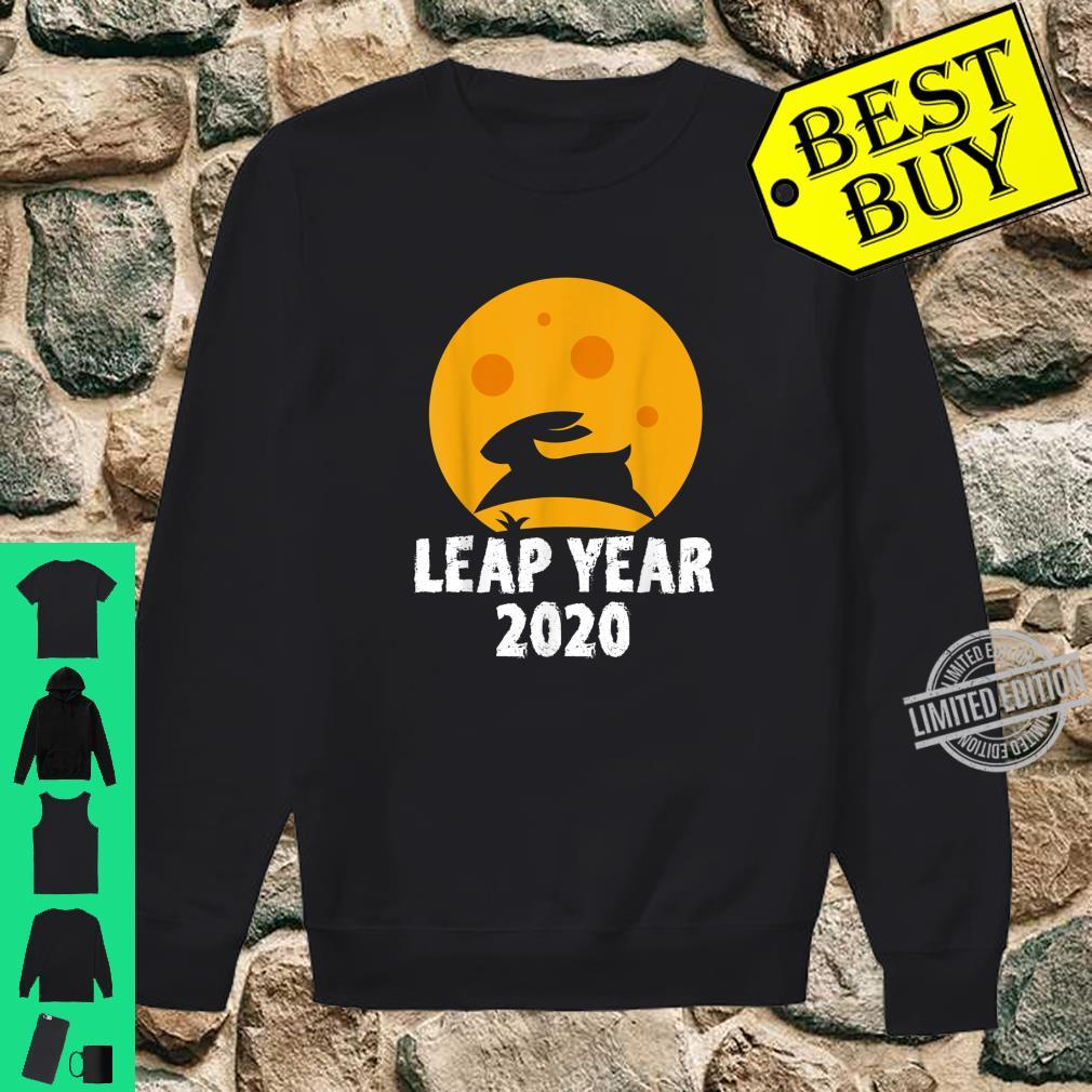 Leap Year February 29th 2020 Leap Day Rabbit Jump Shirt sweater