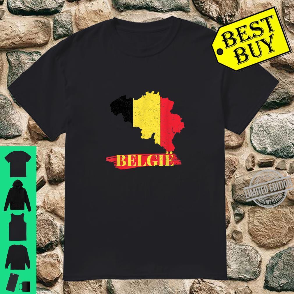 Länder Flagge Fussball I Belgien Soccer Turnier Trikot & Shirt