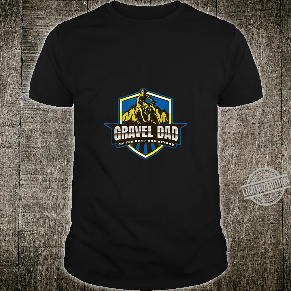 Mens Gravel Dad on the road and beyond Shirt