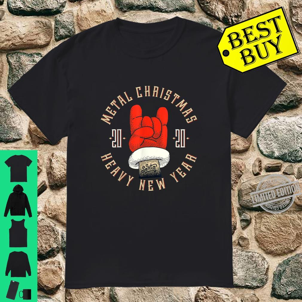Metal Christmas, Heavy New Year, New Year Christmas Holiday Shirt